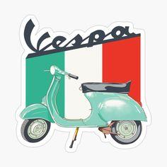 Motos Vespa, Vespa Scooters, Stickers Moto, Vespa Illustration, Vespa Logo, Dibujos Pin Up, New Vespa, Reggae Art, Palestine Art