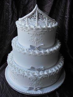 ROYAL ICED WEDDING CAKE GRIMSBY