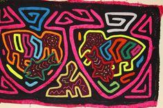kuna Tribe Mola Art Textile Embroidery Panama San Blas 3.ib3482