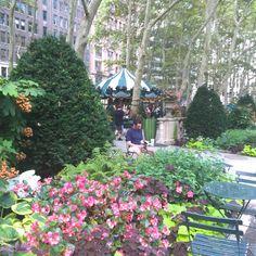 Bryant Park - um oásis de descontração no coração de Manhattan