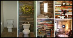 It's time to make something super cool from something old and free!  Who would have thought that these awesome accent walls are made from repurposed pallets.  More inspiration and links to details are in this gallery.  http://theownerbuildernetwork.co/z2sj