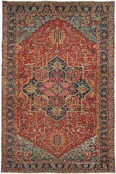 HERIZ, Northwest Persian 11ft 10in x 18ft 2in Circa 1900