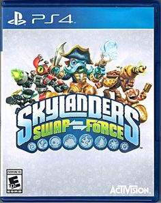 Skylanders SWAP Force game disc and case for Playstation SWAP Force game disc and case only.Replacement SWAP Force game disc and case only. Skylanders Swap Force, Skylanders Party, Latest Video Games, Video Game News, Xbox One, Playstation Consoles, Ps3, Hit Games, Xbox Games
