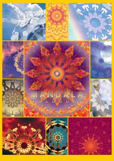The Mandala Wall Calendar for 2015 in a mash-up poster. Mapping your intentions, Mandala Manifestation uses the Calendar and Planner to maximize goal-setting and producing.