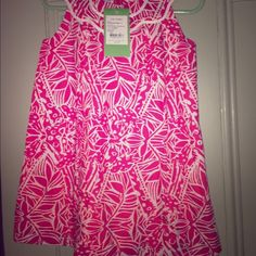Lilly Pulitzer girls size 2T dress hot pink Lilly Pulitzer hot pink dress size 2T girls kids Lilly Pulitzer  Dresses