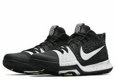 06997ea5c2f7 Nike Kyrie 3 TB Mens Basketball Shoes 11.5 Black White