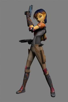 Sabine Wren | Star Wars Rebels""