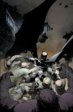 "#Batman #Fan #Art. (Batman The Court of Owls, Part One. ""Knife Trick"" Vol.2#1 Cover) By: Greg Capullo & FCO Plascencia. ÅWESOMENESS!!!™ ÅÅÅ+"