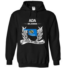 ADA - Its where my ᗗ story begins!Perfect for you ! Not available in stores! - 100% Designed, Shipped, and Printed in the U.S.A. Not China. - Guaranteed safe and secure checkout via: Paypal VISA MASTERCARD - Choose your style(s) and colour(s), then Click BUY NOW to pick your size and order!ADA - Its where my story begins!