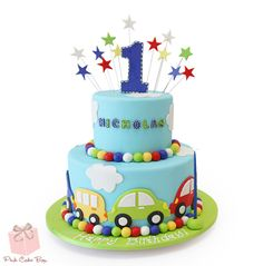 Aryan's First Birthday Cake » Birthday Cakes