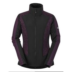 Kerrits Ladies Stretch Panel Riding Jacket - Purple Rein