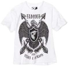 Famous Stars and Straps Boys 8-20 Vulture Youth Tee $20