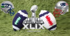 How to Knit a Football - Knitted DIY Footballs for Super Bowl Weekend by Studio Knit
