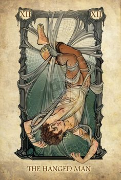 Lord of the Rings Tarot - The Hanged Man