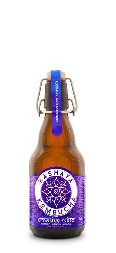 Logo and label design for Kashaya Kombucha Label Design, Packaging Design, Logo Design, Graphic Design, Kombucha Bottles, Kombucha Tea, Just Engaged, Tasty, Yummy Food