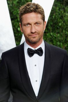 Gerard Butler--not really my type but...he promised he'd kill the bad guy in by stabbing him in the brain in Olympus Has Fallen. And he did.  You gotta love a man that stands by his word.