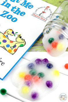 Seuss Party Ideas and Activities for Kids - Natural Beach Living Dr. Seuss Put me in the Zoo Slime Recipe - Natural Beach Living Cool Slime Recipes, Easy Slime Recipe, Dr Seuss Activities, Activities For Kids, Beach Activities, Dr Seuss Printables, Dr Seuss Party Ideas, Dr Seuss Crafts, Preschool Crafts