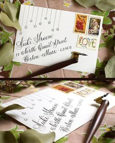 A little bit of mail art inspiration for you this Tuesday morning: try writing…