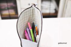 스탠딩 필통 만들기 : 네이버 블로그 Hanging Chair, Diy And Crafts, Storage, Bags, Home Decor, Wallet, Purse Storage, Handbags, Decoration Home