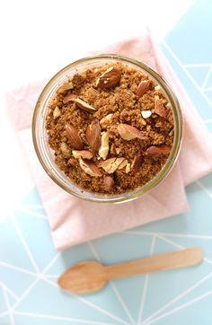 Recette crumble pomme-rhubarbe (vegan, sans gluten) www.sweetandsour.fr - Sweet & Sour | Healthy & Happy Living