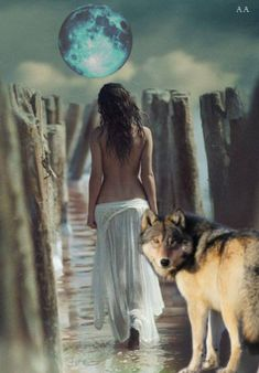 There is only one happiness in this life, to love and be loved Native American Girls, Native American Artwork, American Indian Art, Wolf Photos, Wolf Pictures, Wolf Spirit, Spirit Animal, Der Steppenwolf, Double Exposition