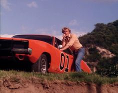 The Dukes Of Hazzards Bo Duke, Dukes Of Hazard, John Schneider, Movie Cars, Dodge Chrysler, Good Ole, Dodge Charger, Mopar, Pop Culture