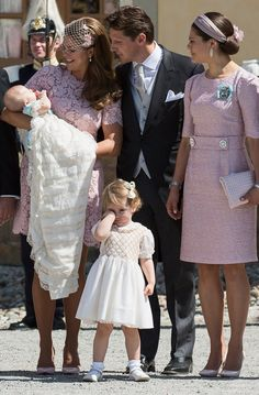 Pin for Later: Sweden's Royal Family Celebrates Princess Leonore's Baptism