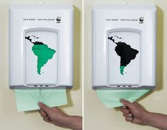 Art brings awareness to social issues.. Look at all 50 ads depicting social issues