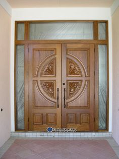 Custom Door Shop's professional sales staff provides tailored services to homeowners, architects, designers, builders and general contractors providing hurricane impact door systems and thousands of different wood styles. Door Design Interior, Wooden Main Door Design, Door Glass Design, Front Door Design, Exterior Entrance Doors