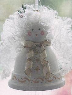 Heaven sent angel flower pot chimes