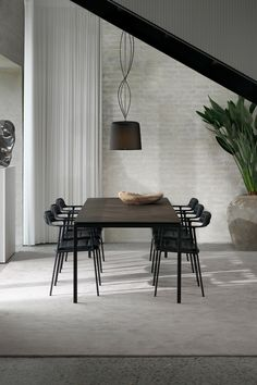 Vipp Presents Its First Chair in 80 Years - Design Milk Swedish Design, Danish Design, Dining Room, Dining Table, Large Table, Higher Design, Elegant Homes, Round Corner, House Design