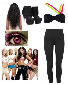 """""""pussycat dolls~ when i grow up"""" by therealgreenqueen ❤ liked on Polyvore featuring Reebok, Pussycat and Agent Provocateur"""