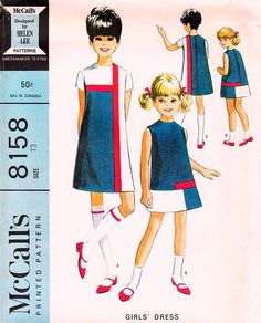 McCall's 8158 by Helen Lee © 1965.