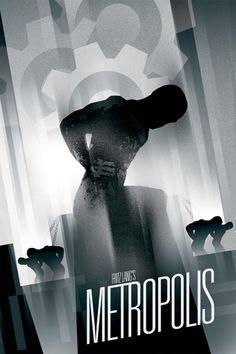 Metropolis | Graphics by Brandon Schaefer http://weandthecolor.com/metropolis-graphic-artwork-by-brandon-schaefer/8660