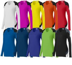 • 92% polyester/8% spandex wicking pinhole mesh • Wicks moisture away from the body • Ladies' fit * Heat sealed label • Sel | Midwest Volleyball Warehouse