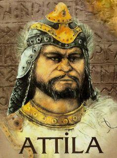 Attila the Hun Attila The Hun, Black History Books, Real Time Strategy, Celebrity Gallery, Asian History, Interesting History, Roman Empire, Rey, Hungary