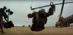 O UNIVERSO DOIDO DA CLA: Cinema: Mad Max - Estrada da Fúria. O Making of de...
