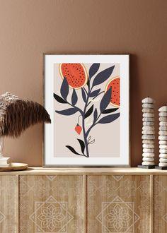 VIVID FRUITS NO. 1 - buy illustrations art prints online UK #art #prints #printshop #printsforsale #bedroomprints