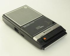 """My tape recorder! So many hours spent (waiting for and) recording my favorite songs off the radio. They weren't called """"mix tapes"""", then. The Final Girls, The Bright Sessions, Thirteen Reasons Why, 13 Reasons, Nancy Wheeler, L Death Note, My Candy Love, Tape Recorder, Cassette Recorder"""