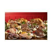1.9kg Finest Oven Ready Chicken, 200g Danish Back Bacon, 2 x 150g Gammon Steaks, 450g Minced Beef, 680g Pork Chops, 900g Boneless Pork Shoulder Joint, 900g Gammon Joint, 454g Pork Sausage Meat and 454g Pork Chipolata Sausage.