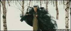 snow white and the huntsman queen gif - Google Search