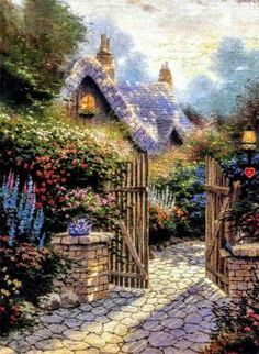 Hidden cottage! (130 pieces)