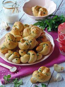 Az otthon ízei: Fokhagymás csomó Ring Cake, Scones, Potato Salad, Potatoes, Vegetables, Ethnic Recipes, Food, Gastronomia, Side Dishes