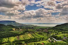 The Balaton lake in Hungary is the largest lake in central Europe and one of the most beautiful tourist destinations in the region. Hungary Travel, Poland Travel, Greek Islands Vacation, Budapest City, Road Trip, Countryside, Beautiful Places, National Parks, Scenery