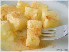 Abacaxi no Micro - Delícias 1001Delícias 1001 / pineapple in the microwave