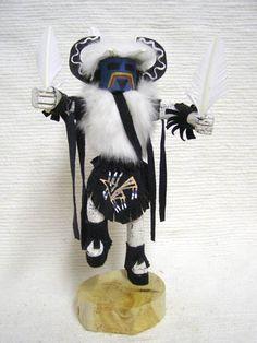 Native American Navajo Made Medicine Man Kachina Doll