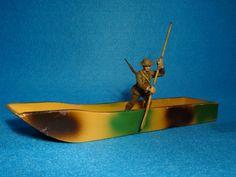 Hausser 7,5 cm Maßstab Britischer Pionier mit Ponton   eBay