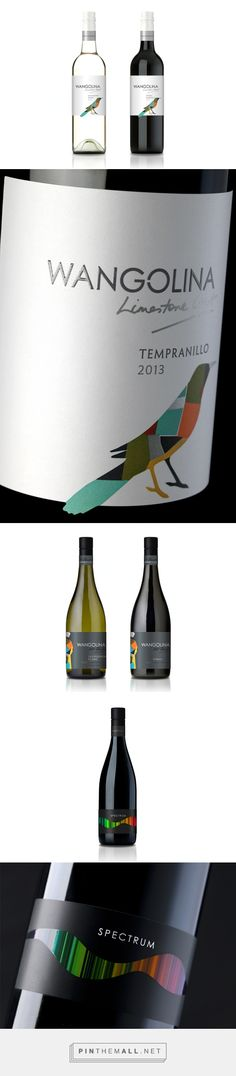 wangolina by KS Design Studio curated by Packaging Diva PD. Artistic wine design packaging collection.