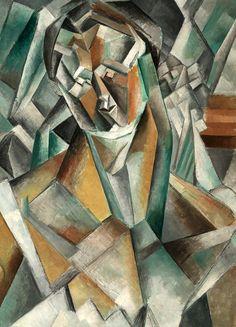 Un #tableau de #Picasso est mis aux enchères ce mardi 21 juin à Londres. La Femme assise est une de ses toutes premières oeuvres de sa période cubiste. Les prix devraient s'envoler. Cette femme a l'air triste est le portrait de Fernande Olivier, l'épouse de Picasso en 1909. L'artiste a peint cette toile baptisée Femme assise pendant ses vacances en Espagne. Il vient d'inventer le cubisme, des formes géométriques qui vont révolutionner l'histoire de l'art.