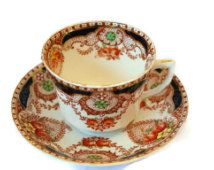 Vintage Doric China Imari tea cup and saucer from the 1930's